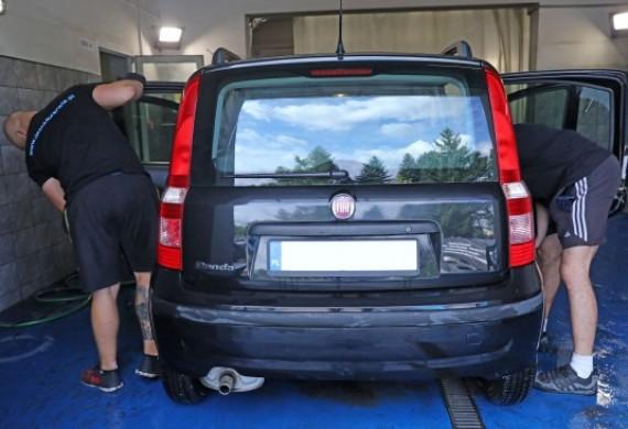 Auto detailing i myjnia parowa