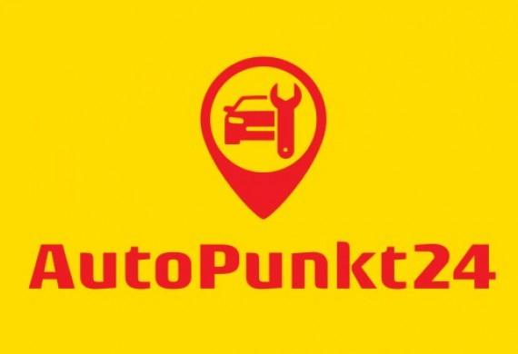 Logo AutoPunkt24 mechanik samochodowy w centrum Bydgoszczy