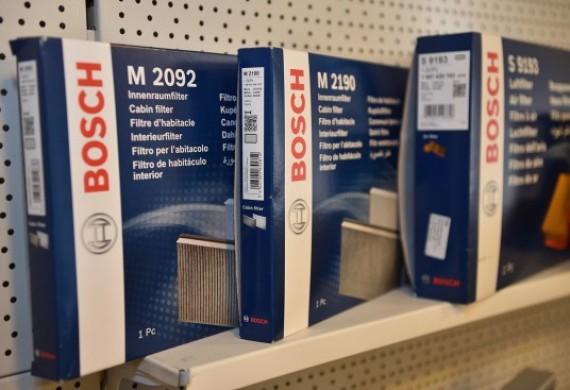 Oferujemy markowe produkty firmy BOSCH. Filtry, paski, układy hamulcowe , wycieraczki, żarówki, itp...