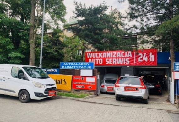 Wjazd Bratysławska - wjazd główny