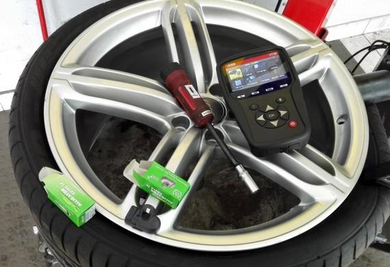 Kompleksowa obsługa aut wyposażonych w czujniki cisnienia TPMS