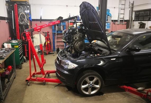 BMW E87 jako dawca części