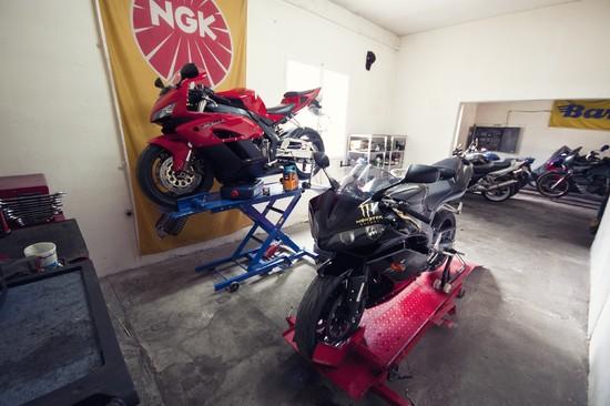 Serwis motocykli wulkanizacja