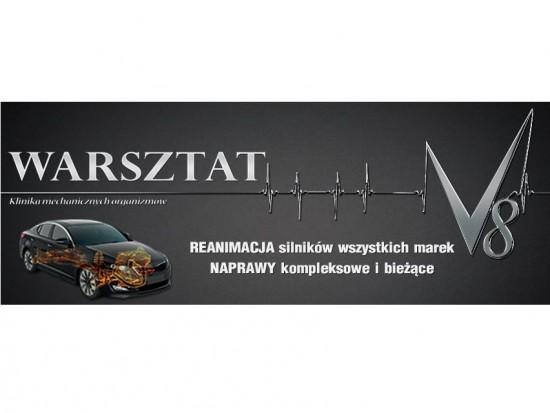 "Warsztat V8 (zmiana nazwy z ""MONSTER CAR"") Białystok"