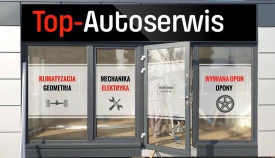 TOP-AutoSerwis - Mechanika klimatyzacja geometria opony Kraków
