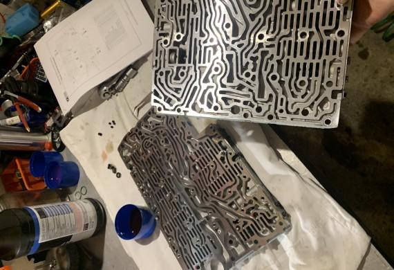 naprawa sterownika automatycznej skrzyni biegów