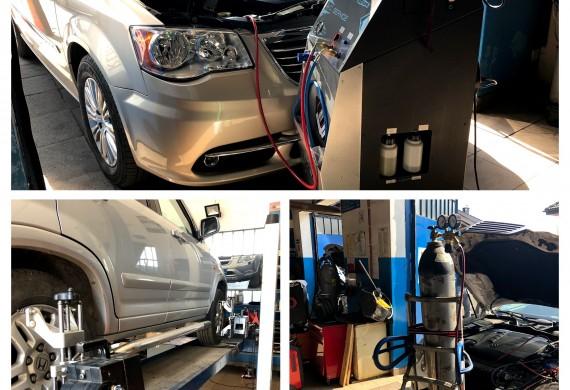 Auto Serwis GT klimatyzacja - hala warsztatowa