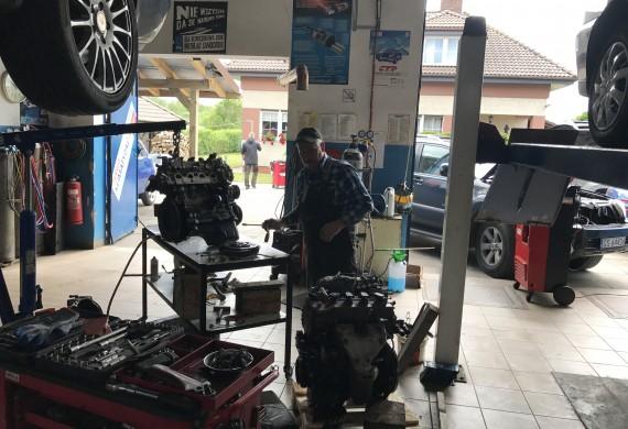 Serwis samochodowy mechanika