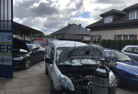 Auto Serwis GT testy szczelności klimatyzacji