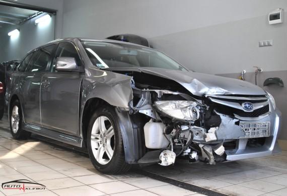Subaru Legacy przyjęte do naprawy blacharsko-lakierniczej