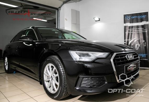Audi A6 po aplikacji powłoki ochronnej