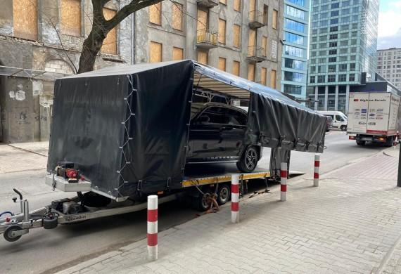 Wykonanie usługi Door2door na zlecenie salonu Mercedes Nobile Motors w Lublinie