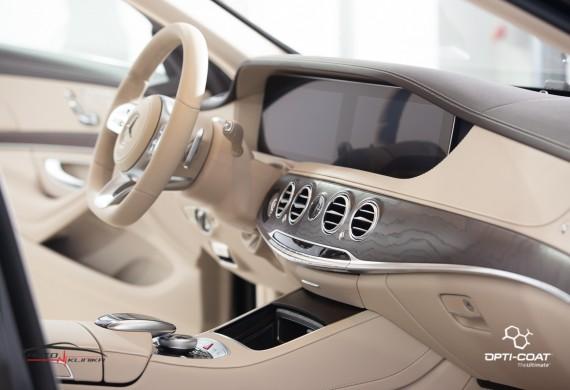 Zabezpieczenie materiałów wnętrza auta, mające na celu skuteczne ograniczenie zabrudzeń, a także kondycji materiałów skórzanych
