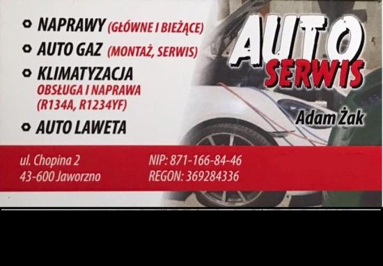 AUTO SERWIS ADAM ŻAK, Serwis mechaniczny i LPG Jaworzno