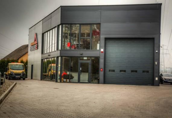 Siedziba naszej firmy przy ul. Bestwińskiej 169 w Bielsku-Białej