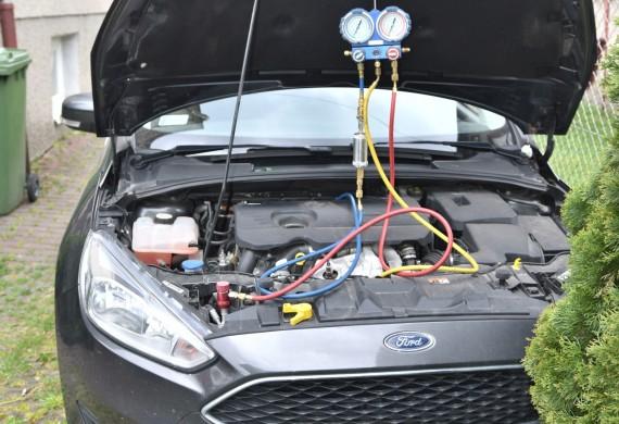serwis klimy forda focusa nowy czynnik 1234yf