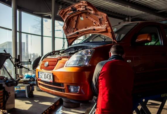 Prowadzimy 30 stanowsikowy warsztat, zajmujemy się kompleksową naprawą wszystkich marek pojazdów.