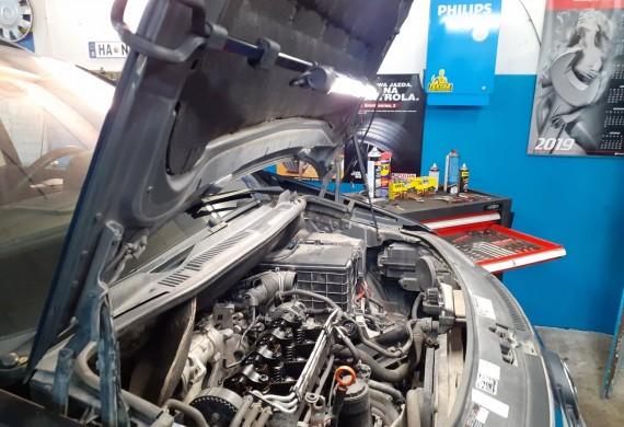 Volkswagen Touran uszczelnienie silnika