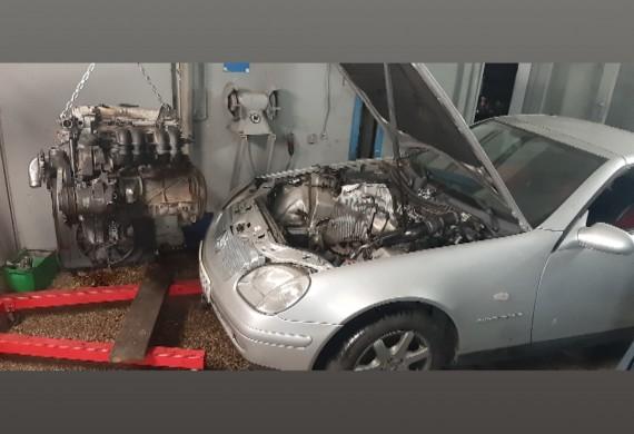 Przekladka silnika mercedes