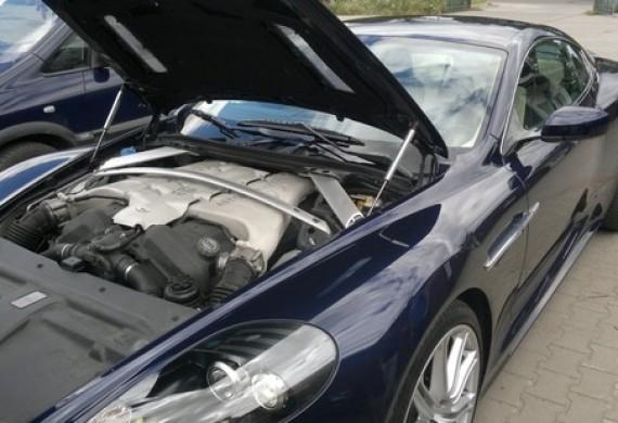 Aston Martin też potrzebuje obsługi serwisowej