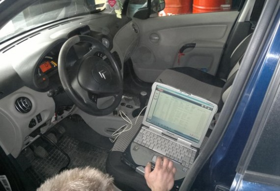 Diagnostyka komputerowa, pełen skan systemów auta.