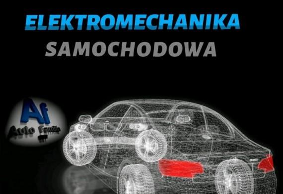 ELEKTROMECHANIKA samochodowa, montaż kamer, uklady elektryczne