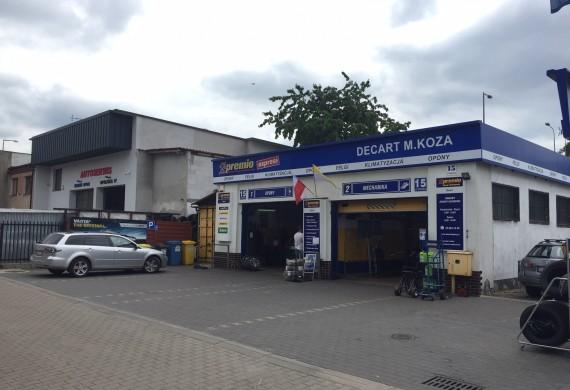 Decart Premio Opony-Autoserwis Legnica