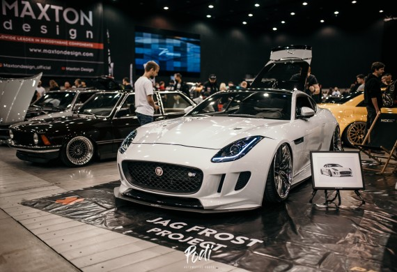 Nasza firmowa zabawka - Jaguar F-Type na najwiekszej europejskiej imprezie!