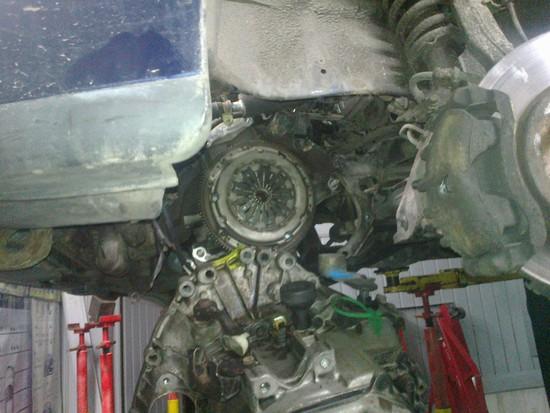 wymiana skrzyni i sprzęgła  rover 400