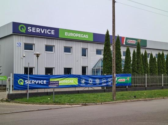 EuropeGAS Serwis Q-Service  Białystok