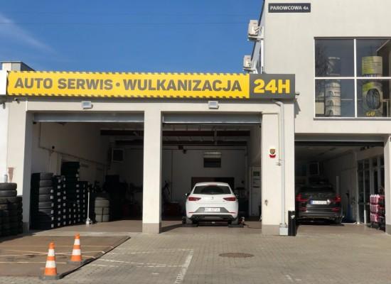 WULKANIZACJA 24H oraz Auto Serwis Warszawa