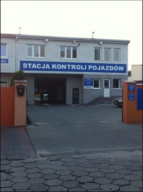 Stacja Kontroli Pojazdów  WX/142/P Warszawa