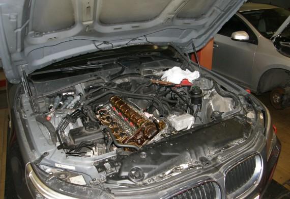 Naprawa osprzętu silnika