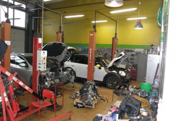 Naprawy bieżące osprzętu silnika