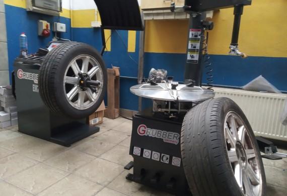 Posiadamy nowe maszyny do montażu opon w tym rownież opon typu runflat