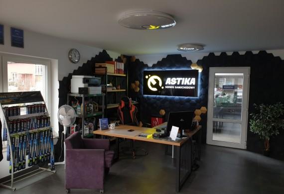 Biuro serwisu / poczekalnia dla klientów
