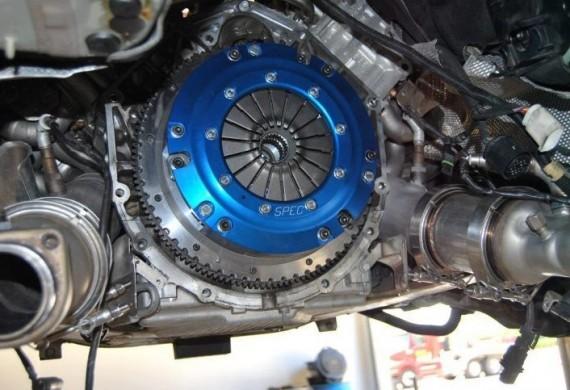 Montaż sprzęgła po chipie silnika