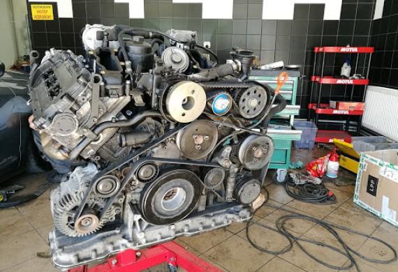 Naprawa silnika 3.0tdi po zerwaniu łańcucha