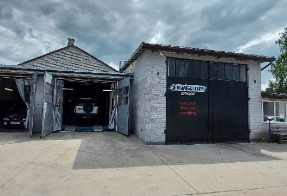 Warsztat, myjnia ręczna i studio detailingoweLevel Up Garage