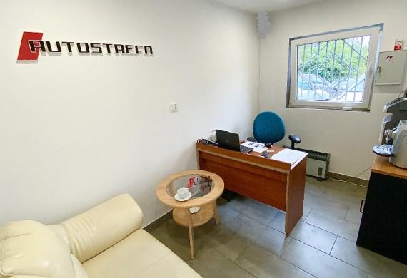 To nasze biuro i poczekalnia dla klienta