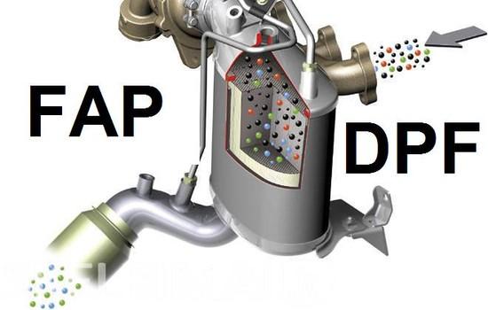 czyszczenie lub usuwanie DPF FAP