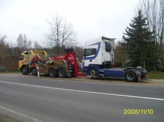 Holujemy ciągnik Scania