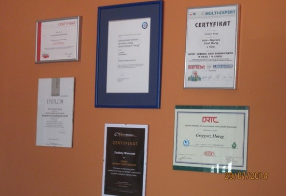 MORĄG CENTRUM - Wyróżnienia i Certyfikaty 1