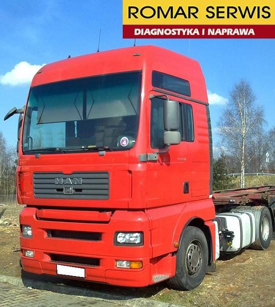Naprawa sterowników ciężarówek