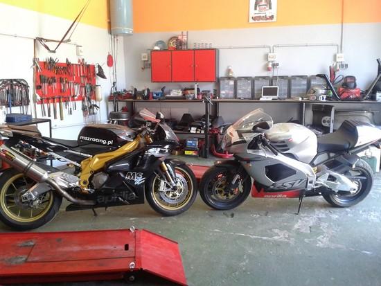 Serwis ISM specjalizacja motocykle oraz skutery Aprilia