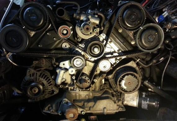 Wymiana rozrządu Audi A6 silnik 3.0 V6