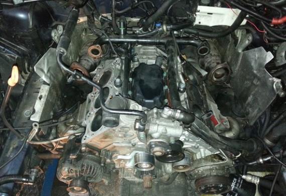 Audi A6- Demontaż głowic