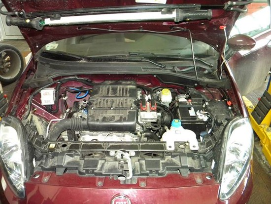 Montaż instalacji LPG Fiat Punto