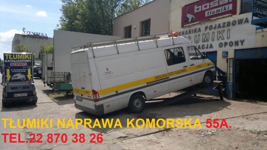 Tłumiki Warszawa  Komorska 55A JUGAZ