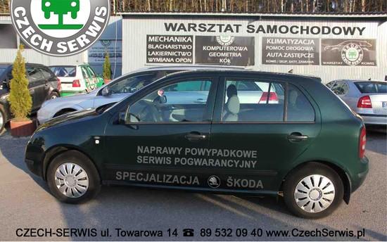 Warsztat samochodowy Olsztyn Towarowa 14 - czech-Serwis